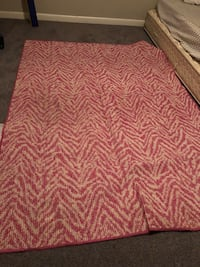 pink and white chevron area rug Decatur, 30035