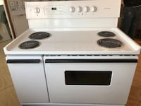 White 4-coil range double oven East Meadow, 11554