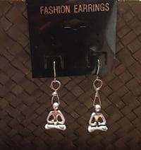 Handmade Yoga Pose Earrings! Vienna, 22180