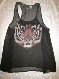 WOMEN'S SIZE 12 TIGER TOP London