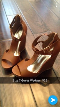 Brow Guess Wedges size 7 Hamilton, L8J 0H5