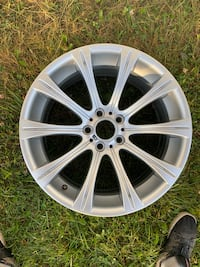 Oem bmw style 166 made by BBS 19 staggered M5 M6 rare
