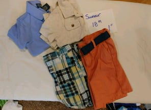 Boys summer clothes 18 months