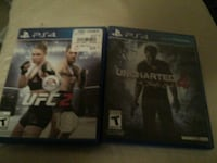Two sony ps4 game cases Moxee, 98936