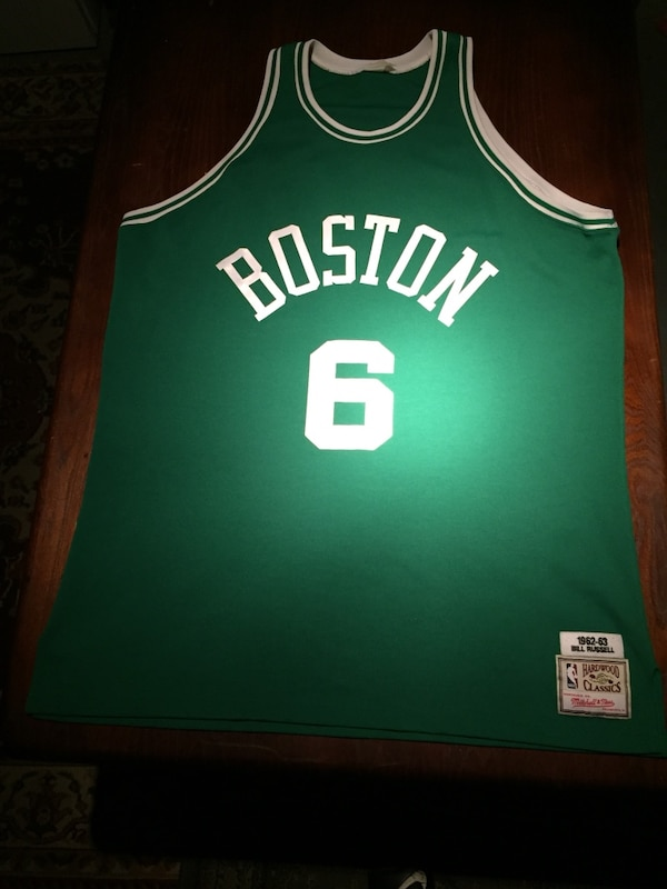 56473d25553 Used Bill Russell Jersey Boston Celtics 1962-63 Mitchell   Ness Throwback  for sale in Atlanta - letgo