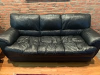 Black Leather Couch for Sale Baltimore, 21230