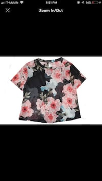 Flowered shirt San Jose, 95117
