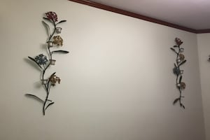 Flower Candle Wall Holder