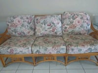 Wicker couch and love seat Port St. Lucie, 34952