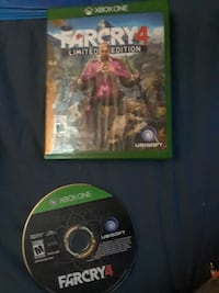 Far Cry 4 Xbox One game disc with case