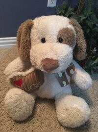 white and brown dog plush toy McKinney, 75070