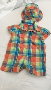 blue, red, and yellow plaid dress shirt
