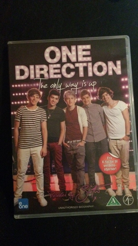 One ditection dvd