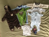 0-3 month baby clothing Fredericksburg, 22406