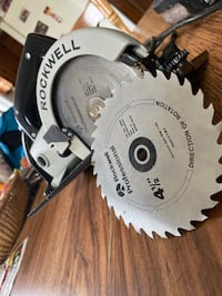 Rockwell trim saw and belt sander