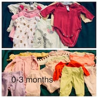 Baby Girl Clothes  West Valley City
