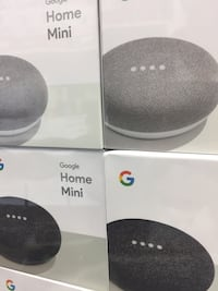Brand New Sealed GOOGLE HOME MINI, silver and gray colors