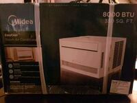two white and black air conditioner boxes Winnipeg, R2X 0X6