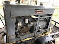 Lincoln arc welder 4K firm on price works perfected