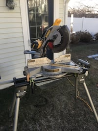 black and gray miter saw Weymouth, 02190