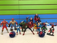(608A) Spiderman, Super Man, Capitan America  – Starting from ONLY 1$