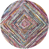 New 4' Round Rug (Perfect for Daughter's Room) Ajax