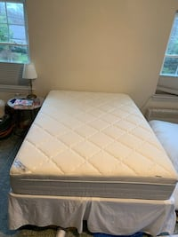 Full Size Mattress, Cooling Gel Topper, and Frame Arlington, 22202