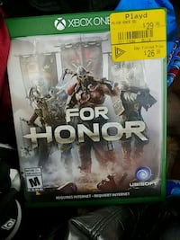 For Honor Xbox One game case Edmonton, T5A 1C5
