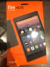 black Amazon fire HD 8 pack