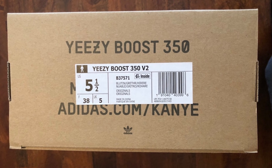 yeezy boost size 5.5