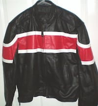 RoadGear Leather Motorcycle Jacket Size 44 or Large