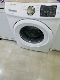 white Samsung front-load washing machine Toronto, M3N 2R4