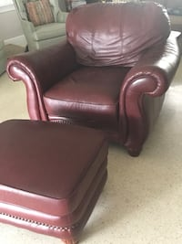 Leather Chair & Ottoman  Clearwater, 33764