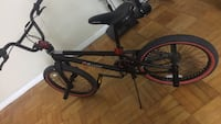 Black and red bmx bike Toronto, M5N 1J1