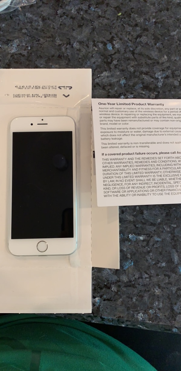 Brand New iPhone 6s (Asurion) WITH 1 year warranty