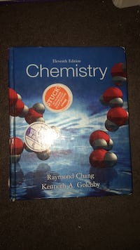 General Chemistry 1 & 2 textbook Tallahassee, 32304