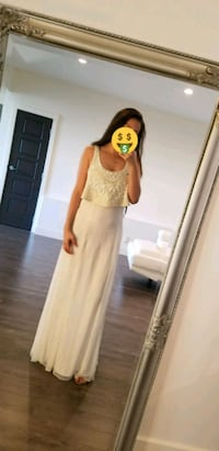 BNWT white marciano Dress Mission