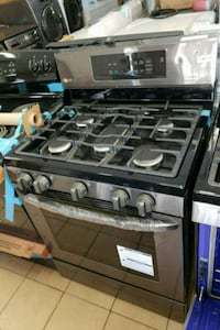 black and gray gas range oven San Antonio, 78227