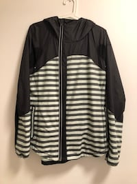Lululemon jacket with hood, size 10