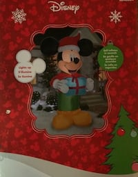 Disney Mickey Mouse Airblown 9 ft Self-Inflatable Christmas  -NEW Derby, 67037