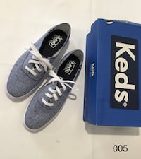 NEW Keds CH Doby Daisy Blue women's fashion sneakers size 6M Dickson, 37055