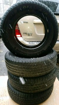 4 X 225/75 R 16 M+S ALL SEASON TIRES Barrie