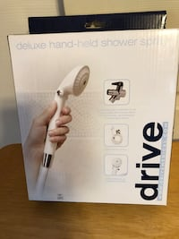 New - DRIVE - DELUXE HAND-HELD SHOWER SPRAY