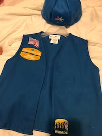 Girl Scout Daisy Vest 3 patches included Edinburg, 78539