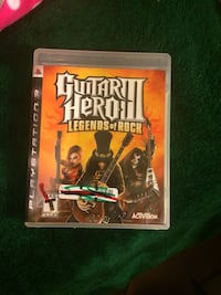 PS3 game only guitar hero