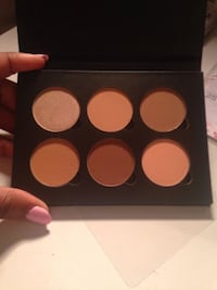 black and brown makeup palette MONTREAL