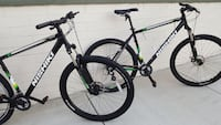 2 x 29er nishiki mountain bike size large and xlar