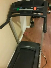 black and gray automatic treadmill Washington