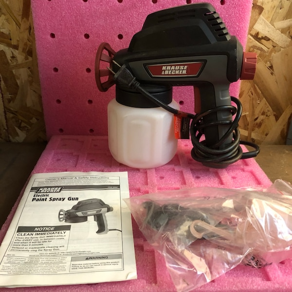 How To Use Krause Becker Electric Paint Spray Gun