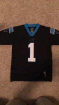 Carolina panthers jersey cam newton size 10-12. EUC